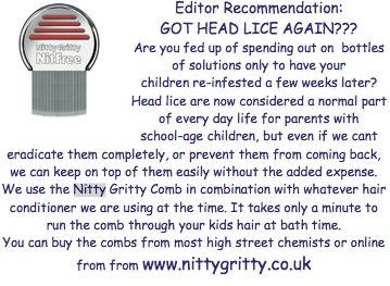 Nitty Gritty featured in <B>Cotswold Families</B>