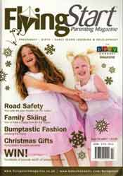 Nitty Gritty featured in FLYING START MAGAZINE