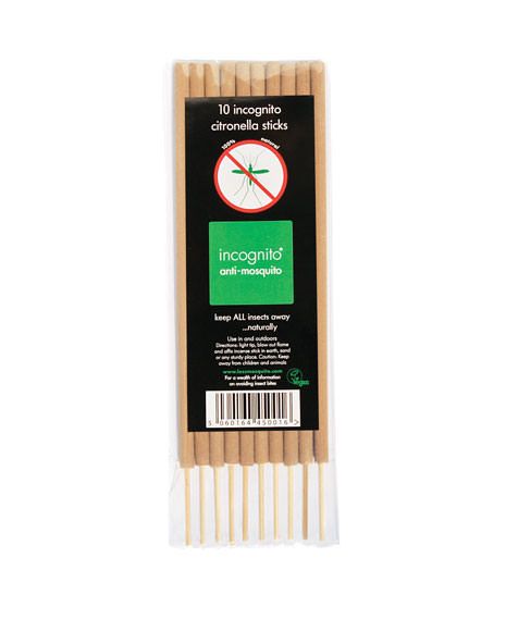 incognito Citronella Incense Sticks